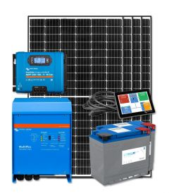 RV & Marine 12V Charging kit with 1320 Watt Solar Panel & 100 Amp MPPT Charge Controller