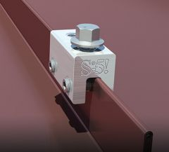 S-5! S-5-E Roof Clamp for Double-Folded Standing Seam Roof Profiles