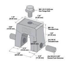 S-5! S-5-R465 Mini Clamp
