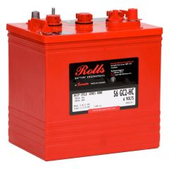 Rolls Surrette S6 GC2-HC Series 4000 6V 230Ah Flooded Lead Acid Deep Cycle Battery