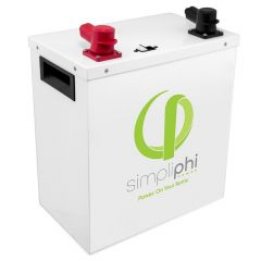 Simpliphi PHI-3.8-48-60-M 3.8kWh 48 Volt Lithium Ferro Phosphate Battery With Metal Case