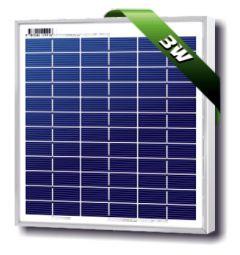 Solarland SLP003-12U 3 Watt 12 Volt Polycrystalline Solar Module