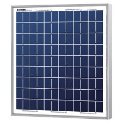 Solarland SLP005-12R 5 Watt 12 Volt Solar Panel with 10 foot 18/2 AWG Cable