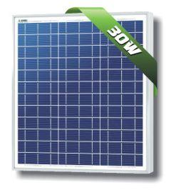 Solarland SLP030-24U 30 Watt 24 Volt Polycrystalline Solar Module