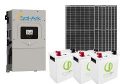 Sol-Ark Power Kit with 2640 Watt of PV and 11.4kWh of Simpliphi LiFePO4 Battery Storage