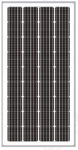 Solarland SLP190S-24 190 Watt 24 Volt High Efficiency Monocrystalline Solar Panel