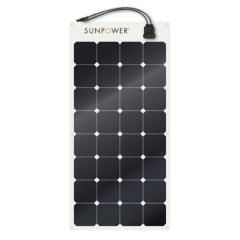 SunPower Flexible Solar Panel 100 watt monocrystalline