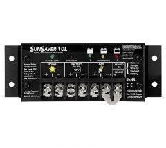 SunSaver 10 Amp 12 Volt Solar Charge Controller With LVD