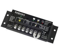 SunSaver SS-6-12V 6 Amp 12 Volt Solar Charge Controller