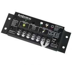 SunSaver SS-6L-12V 6 Amp 12 Volt Solar Charge Controller With LVD