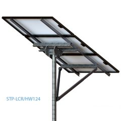Tamarack Solar STP-LCR/124HW Top of Pole High Wind Mount for Three 60 or 72 Cell Modules