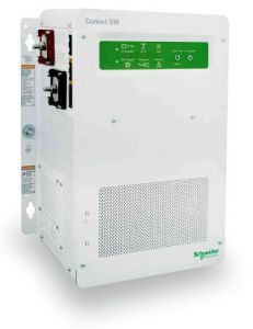Schneider Electric 865-2524 Conext SW 3,000 Watts, 24VDC Inverter/Charger for Split-phase 120/240 VAC