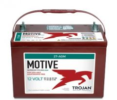 Trojan 27-AGM 12 Volt, 89 AH Deep Cycle AGM Battery