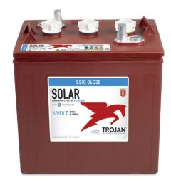 Trojan SSIG 06 235 Solar Signature 6 Volt 214 Ah Line Flooded Battery