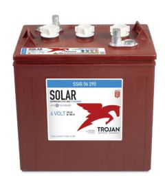 Trojan SSIG 06 290 Solar Signature 6 Volt 265 Ah line flooded battery