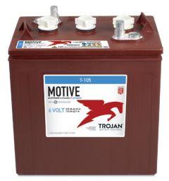 Trojan T105 6 Volt, 225 AH Deep Cycle Battery