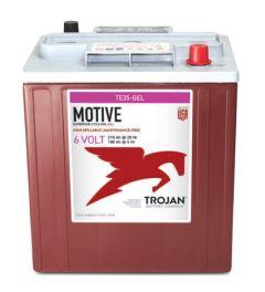 Trojan TE35-GEL 6 Volt 210 Amp-hour Deep Cycle Gel Battery