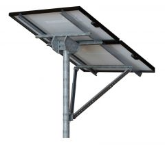 Tamarack Solar STP-LCR/82HW Top of Pole High Wind Mount for Two 60 or 72 Cell Module