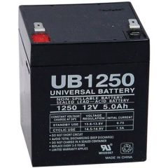 Universal Sealed Battery 5 Amp-hours 12 volts AGM  D5741 UB1250