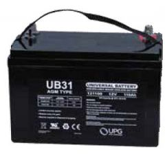 Universal Battery UB31 100Ah AGM Battery