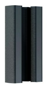 IronRidge UFO-STP-30MM-B1 Black Finish Stopper Sleeve.