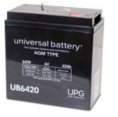 Universal Battery 40560 42 Amp-hour 6V F2 AGM Sealed Battery