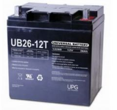 Universal Battery 40596 26 Amp-hour 12 Volt Sealed AGM Battery