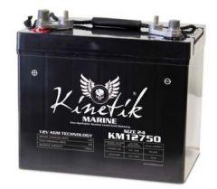 Universal Battery 40601 75 Amp-hours 12V Marine Combo AGM Sealed Battery