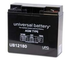 Universal Battery 40648 18 Amp-hours 12V F2 AGM Sealed Battery