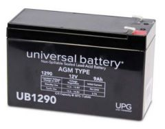 Universal Battery 40748 9 Amp-hour 12 Volt Sealed AGM Battery