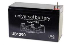 Universal Battery 40756 9 Amp-hour 12 Volt Sealed AGM Battery
