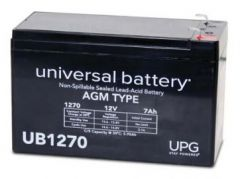 Universal Power Group 40800 7 Amp-hours 12V AGM Sealed Battery