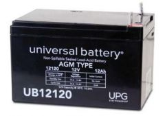 Universal Battery 40842 12 Amp-hour 12 Volt Sealed AGM Battery