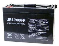 Universal Battery 45504 90 Amp-hour 12V I4 AGM Sealed Battery