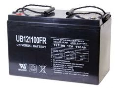 Universal Battery 45505 110 Amp-Hour 12 Volt Sealed AGM Battery