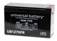 Universal Battery 45566 7 Amp-hour 12 Volt Sealed AGM Battery