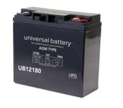 Universal Battery 45570 18 Amp-hour 12 Volt Sealed AGM Battery