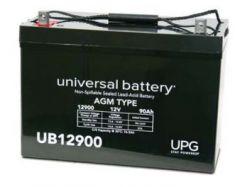 Universal Battery 90 Amp-hours 12V AGM Sealed Battery