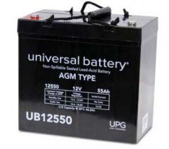 Universal Battery 45980 55 Amp-hour 12 Volt Sealed AGM Battery