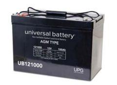 Universal Battery 100 Amp-hours 12V AGM Sealed Battery