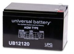 Universal Battery D5744 12 Amp-hour 12 Volt Sealed AGM Battery