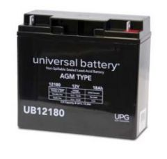 Universal Battery D5745 18 Amp-hour 12 Volt Sealed AGM Battery
