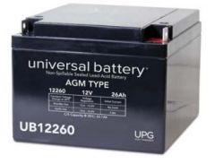 Universal Battery D5747 26 Amp-hour 12 Volt Sealed AGM Battery