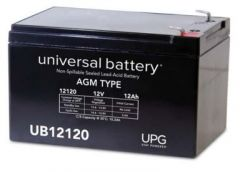 Universal Battery D5775 12 Amp-hours 12V F2 AGM Sealed Battery