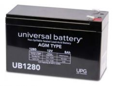 Universal Battery D5779 8 Amp-hour 12 Volt Sealed AGM Battery