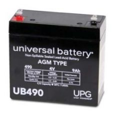 Universal Battery D5798 9 Amp-hour 4 Volt Sealed AGM Battery