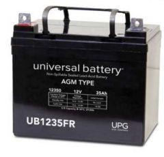 Universal Battery 35 Amp-hours 12V AGM Sealed Battery