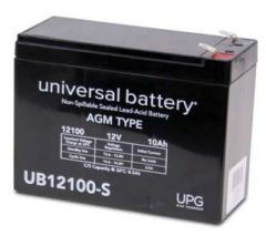 Universal Battery D5719 10 Amp-hours 12V AGM Sealed Battery