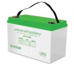 Universal Power Group LB121030 LiFePO4 Lithium 103 Amp 12 Volt Battery