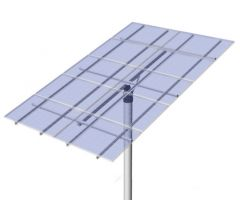 DPW Solar Universal Top of Pole Mount for Ten Type G Solar Modules